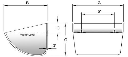 mô hình gầu tải nhựa