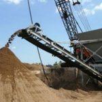 Băng tải vận chuyển cát tiêu chuẩn ISO quốc tế