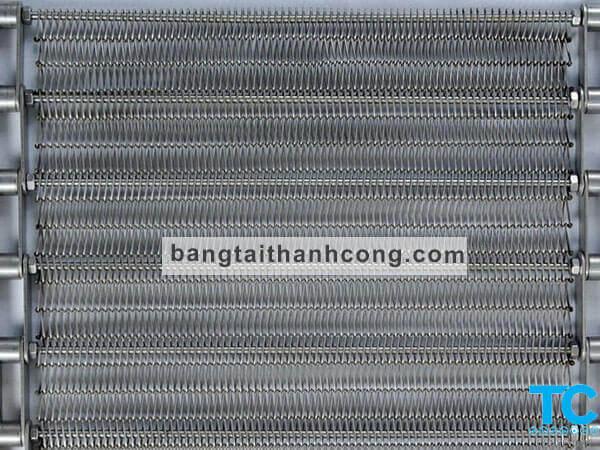 Lưới băng tải Inox đan thường